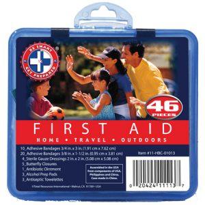 46 Piece Mini First Aid Kit