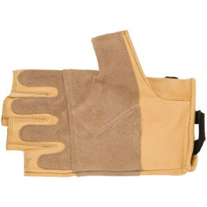 Grippy 3/4 Leather Gloves