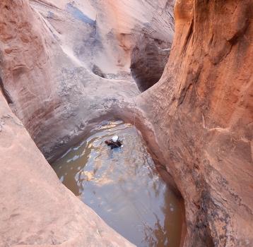 Poe Canyon, Technical Canyoneering Photos